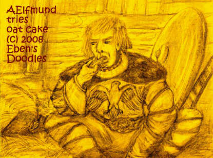 Prince Aelfmund Tries Oat Cake