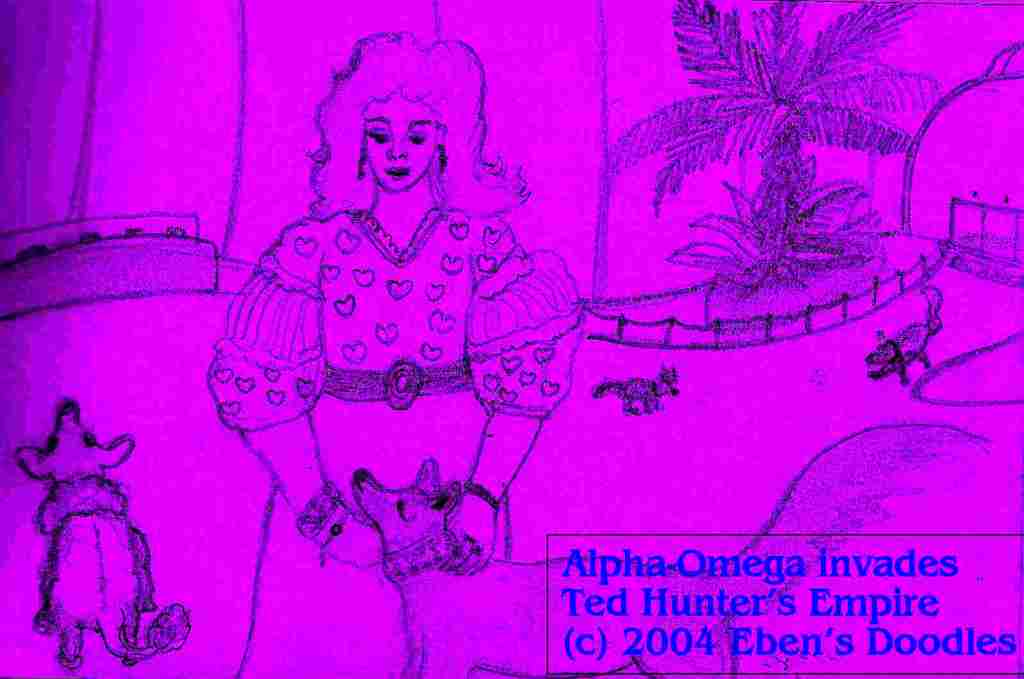 Alpha-Omega Invades Ted Hunter's Empire