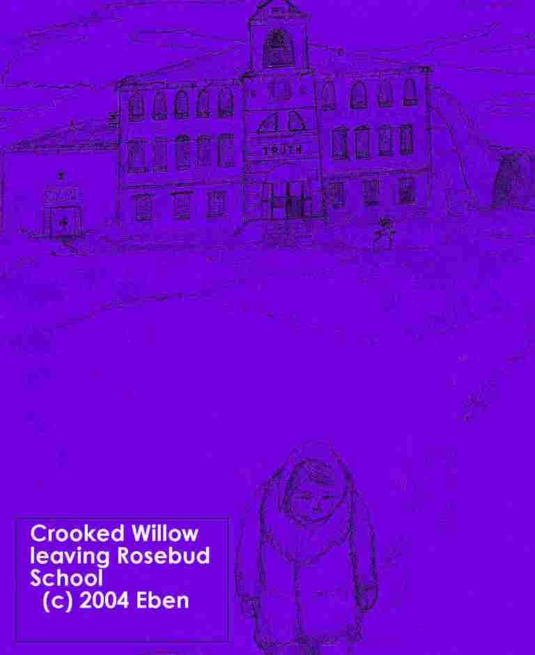 Crooked Willow Leaving Rosebud School