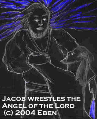 Jacob Wrestles the Angel of the Lord