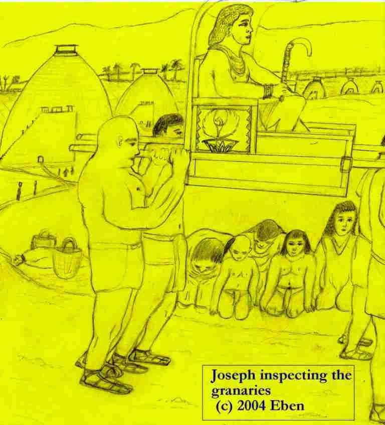 Joseph Inspects the Granaries