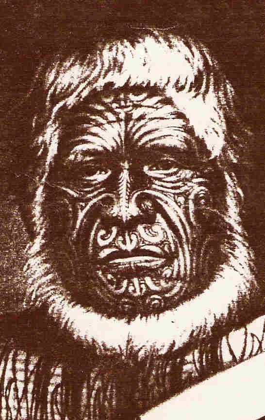 Karaitiana,the Maori Chieftain