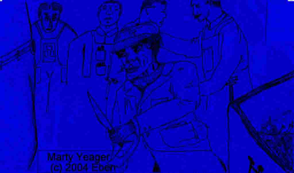 Marty Yeager Fights Croakum