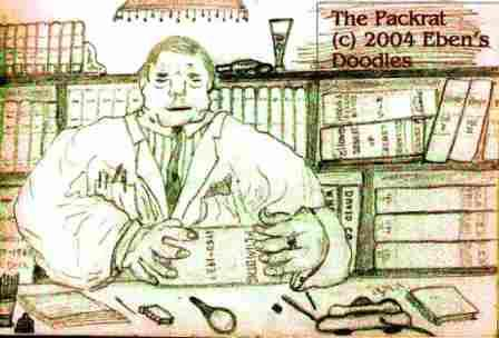Dr. Gruen the Packrat