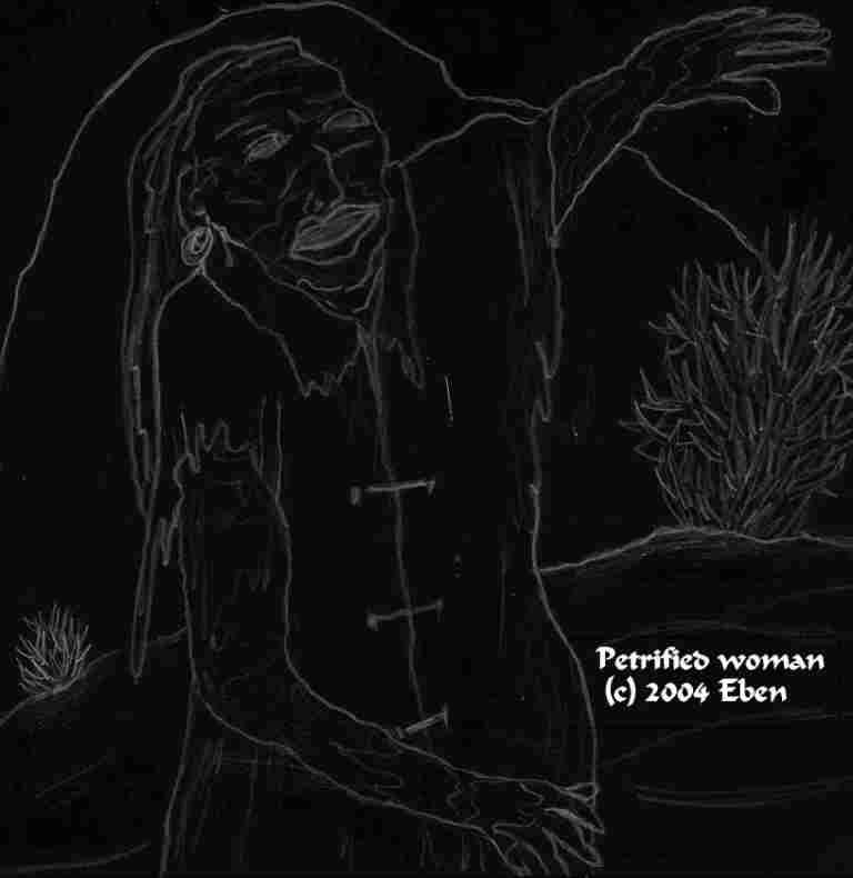 Petrified Woman