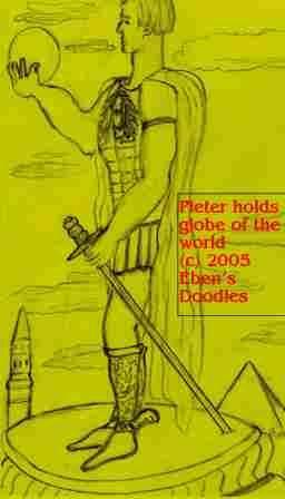 Pieter on a Pedestal
