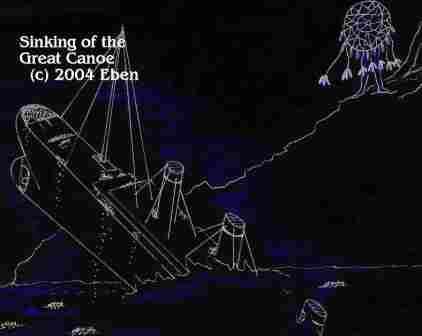 The Sinking Great Canoe