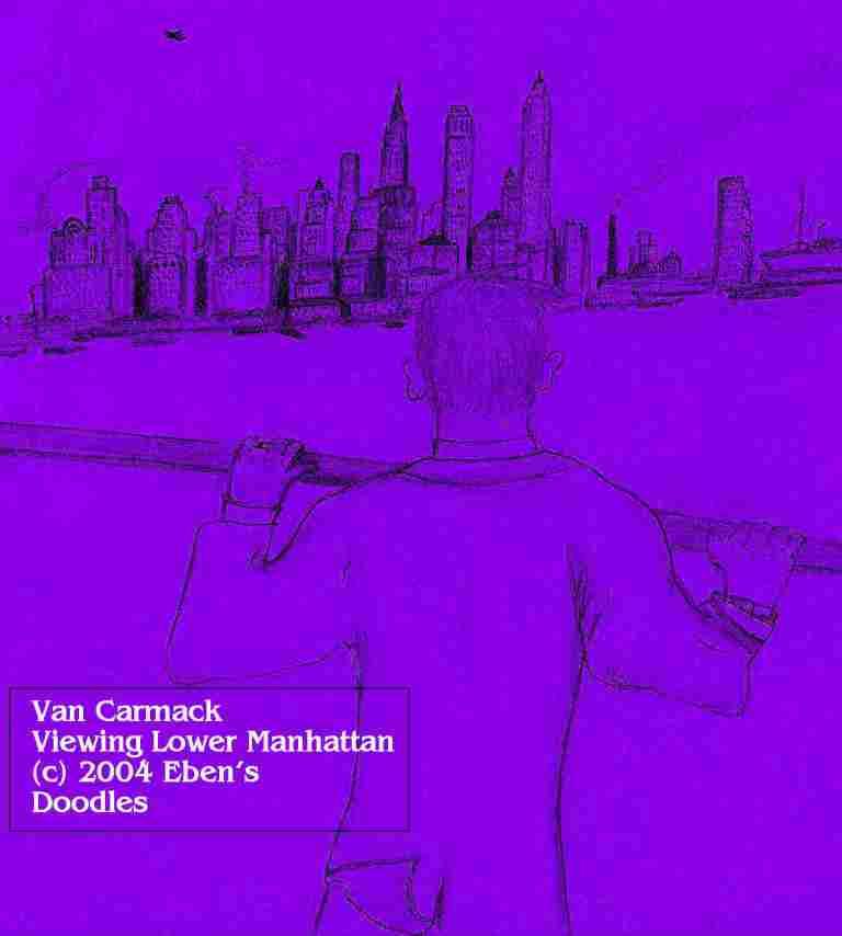 Van Carmack Viewing Lower Manhattan